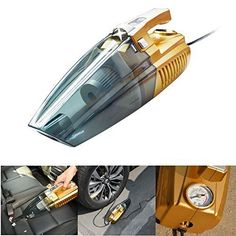 Portable Vacuum Cleaner for Car Handheld Dry/Wet Auto Vacuum Cleaner, Portable Vacuum Cleaner, Car Vacuum, Led Lighting Home, 4 In 1, Car Cleaning, Wet And Dry, Car Accessories, Vacuums