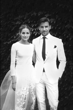 Olivia Palermo's wedding! She looks so chic!