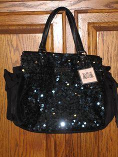 Black Juicy Couture purse<3
