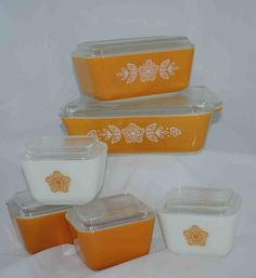 Hey, I found this really awesome Etsy listing at http://www.etsy.com/listing/152740373/butterfly-gold-pyrex-refrigerator