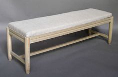 Long Swedish Bench | From a unique collection of antique and modern benches at http://www.1stdibs.com/furniture/seating/benches/ Recover /refinish for guestroom