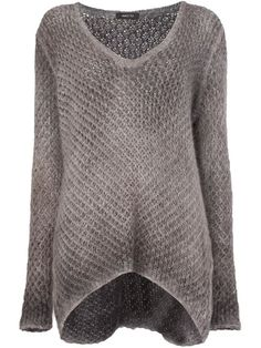 Shop Avant Toi oversized V-neck sweater  in L'Eclaireur from the world's best independent boutiques at farfetch.com. Shop 300 boutiques at one address.