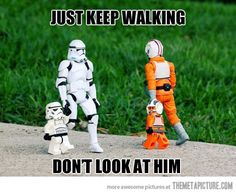 Star Wars characters with kids | Don't even look at him…