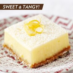 Go ahead. We dare you to bring this perfect sweet and tangy combination to life! #dessert #recipe