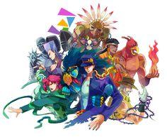 JJBA Part 3: Stardust Crusaders
