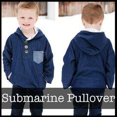 ShwinDesigns — Submarine Pullover