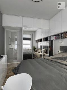 INTERIOR   Mieszkanie M3 - Warszawa - Sypialnia, styl nowoczesny - zdjęcie od Manufaktura Projektów