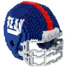 New York Giants NFL 3D BRXLZ Puzzle Helmet Set (SHIPS IN NOVEMBER)