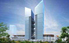 KOÇ TOWERS-ANKARA  Koç Towers, which is planned to be established on the axis of Eskişehir Road, one of the most important trading centers in Ankara, is an office project to be a symbol of the city. *for more click the link