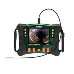 Extech HDV610 High Definition VideoScope Borescope Inspection Monitor features 5.5inch color LCD TFT with high definition 640 x 480 resolution.The HDV610 inspection camera is an excellent for Home Inspection, Industrial Manufacturing, Automotive, Aerospace, HVAC, Environmental, Safety and Security applications. Get More Details and SHOP: http://www.valuetesters.com/extech-hdv610-high-definition-videoscope-borescope-inspection-monitor.html