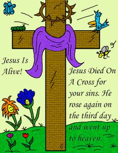 Free printable easter pictures posters jesus is risen easter