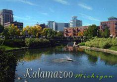 Kalamazoo, MI~~~home of my Western Michigan University Broncos