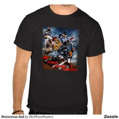 Motocross dad t-shirt Dad is the sponsor,mechanic and transporter #dirtbike #motorcycle