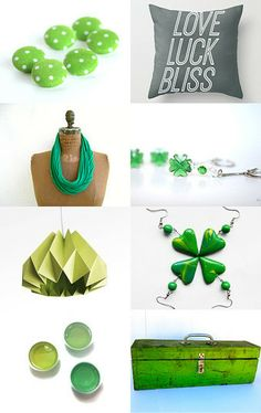 A Wee Bit Green by Emily Meinzer on Etsy--Pinned with TreasuryPin.com