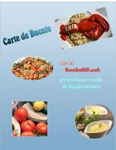 """Cover of """"Carte de Bucate"""" Baby Food Recipes, Magazines, Cover, Recipes For Baby Food, Journals"""