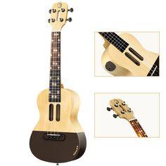 Intelligent Ukulele APP 23 inch smart phone ukulele Uke for beginners gift Adapterization 4 strings Guitar