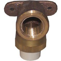 """Genova Products 53071Z 1/2"""" Low Lead Cpvc Drop Ear Elbow"""