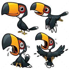 Cartoon Hornbill