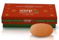 Mmmmmm it's Christmas! We love The Scottish Fine Soaps Company Gingerbread Soap set