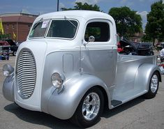 1937 Ford COE (cab over engine) truck.