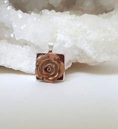Resin Flower Pendant Gold FlowerRed ResinIrish by DelabudCreations Resin Pendant, Gold Pendant, Resin Jewellery, Resin Flowers, Flower Pendant, Shop My, Pendants, Etsy Shop, Trending Outfits