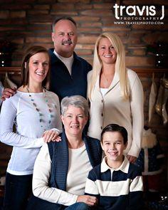 Indoor Family Photo, Travis J Photography, Colorado