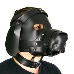 This premium leather puppy play hood will put your pup the right space. The Ultimate Leather Dog Hood is stitched together from soft comfortable leather. Toy Puppies, Dogs And Puppies, Poodle Puppies, Sensory Deprivation, Dog Mask, Puppy Play, Trending Outfits, Leather, Dog Style