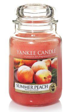 Pêche d'été - Bougie parfumée grande jarre - Yankee Candle