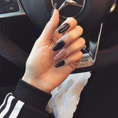 esmalte negro