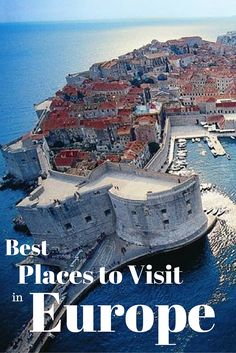 Here are the 100 best places to visit in Europe, that should be on every travelers bucketlist! These are some of the greatest destinations in the world!