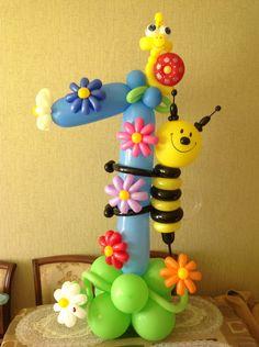 украшение шарами на 1 годик фото: 19 тыс изображений найдено в Яндекс.Картинках