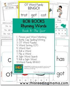 BOB Books - Rhyming Words -Book 8 The Spot - Ot Words -  FREE BOB Books Rhyming…