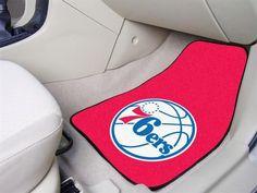 Philadelphia 76ers Car Auto Floor Mats Front Seat