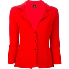 SNOBBY SHEEP wool blazer ($320) ❤ liked on Polyvore