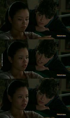 """#TheFosters 4x02 """"Safe"""" - Mariana and Jesus"""