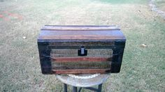A personal favorite from my Etsy shop https://www.etsy.com/listing/490624933/steamer-trunk-antique