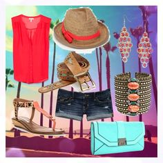 """summer"" by sugarbzkt on Polyvore"