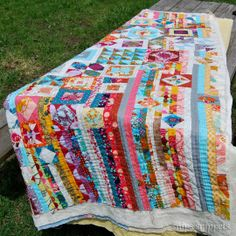 snips snippets - gypsy wife quilt TUTORIAL LOTS OF PIX
