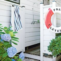 O is for Outdoor Shower - Beach House Renovation Guide - Coastal Living