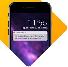 Aplicativo com Envio de Notificações App, Electronics, Phone, Apps, Telephone, Mobile Phones, Consumer Electronics
