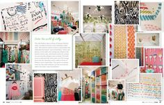 All things Lilly Pulitzer--clothes, patterns, shop decor, inspiration: Lonny Jan/Feb 2011