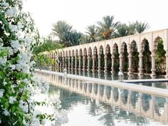 """Fragrant blooms like bougainvillea, plumbago, and oleander drape the resort's archways, but the top note in the air is Arabian jasmine—as if the grounds are """"naturally perfumed with Chanel No. 5,"""" according to general manager Laurent Branover."""