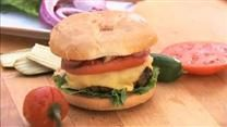 Super yummy burger recipe, I usually add a bit of bread crumbs to hold it together, flavors are great!