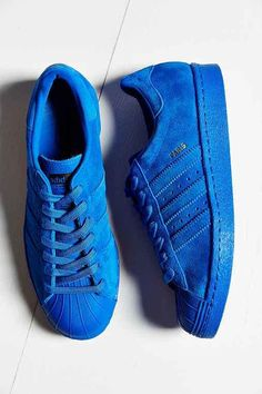 These are my shoes (Emily) They are so nice! they are adidas superstars in the color blue pack.