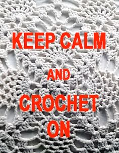 Virkataan vaan! Just keep crocheting!