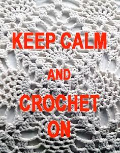 Virkataan vaan! Just keep crocheting!