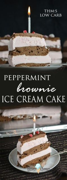 Peppermint Brownie Ice Cream Cake And My 21st Birthday