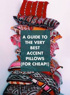 The Very Best Accent Pillows /