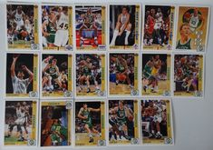 1991-92 Upper Deck Series 1 Boston Celtics Team Set Of 17 Basketball Cards #BostonCeltics