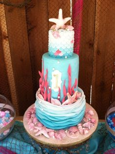 Under The Sea 1St Birthday  on Cake Central